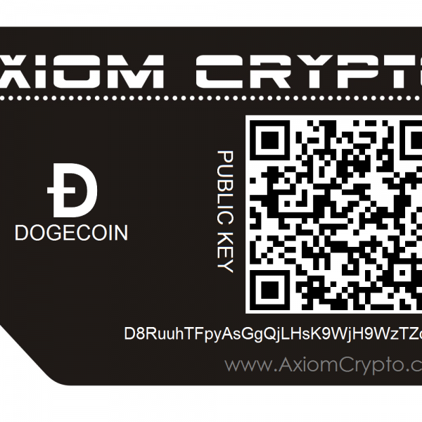 Dogecoin Cold Wallet Storage