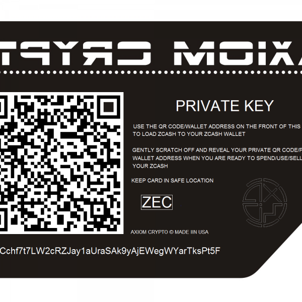 Paper Wallet for Zcash