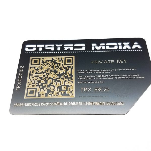 Stainless Steel Paper Wallet